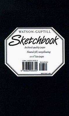 Small Sketchbook (Kivar, Black) by Watson-Guptill