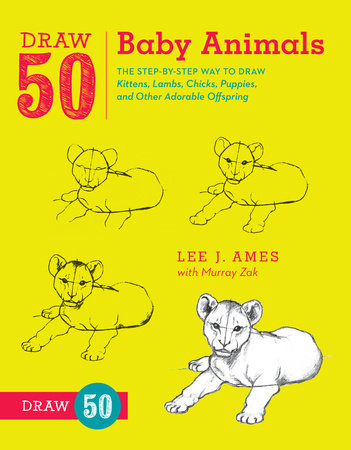 Draw 50 Baby Animals by Lee J. Ames and Murray Zak