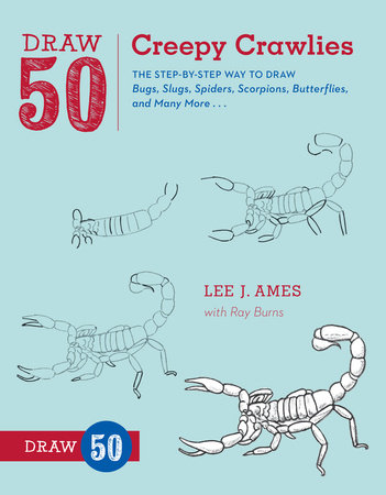 Draw 50 Creepy Crawlies by