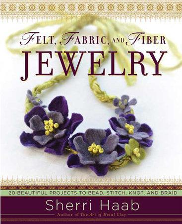 Felt, Fabric, and Fiber Jewelry by