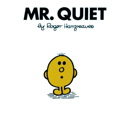 Mr Men Quiet