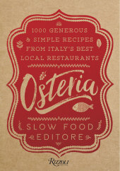 Osteria Written by Slow Food Editore, Translated by Natalie Danford