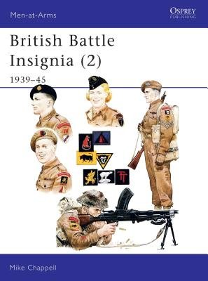 British Battle Insignia (2) by Mike Chappell