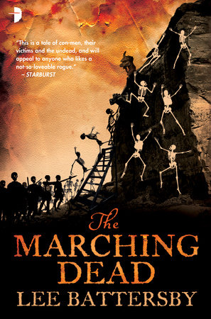 The Marching Dead by Lee Battersby