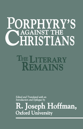 Porphyry's Against the Christians