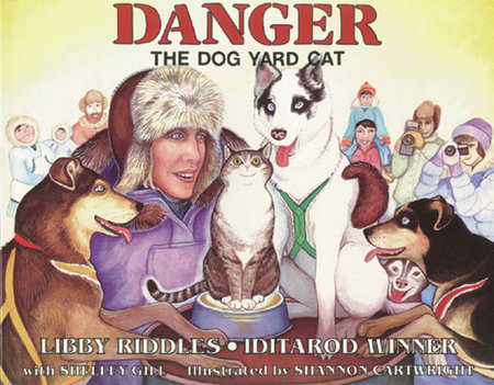 Danger The Dog Yard Cat by