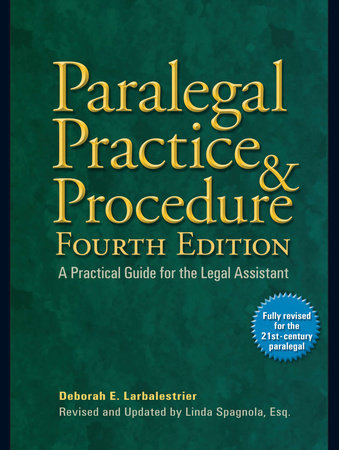 Paralegal Practice & Procedure Fourth Edition