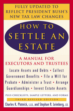 How to Settle an Estate