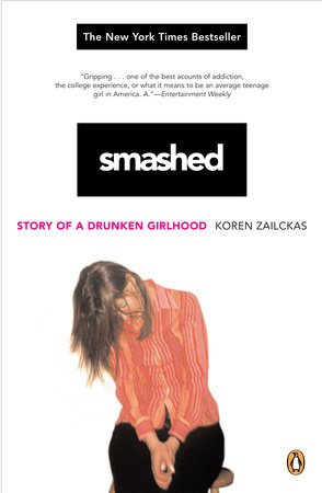 Smashed book cover