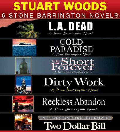 Stuart Woods 6 Stone Barrington Novels book cover