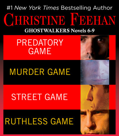 Christine Feehan Ghostwalkers Novels 6-9