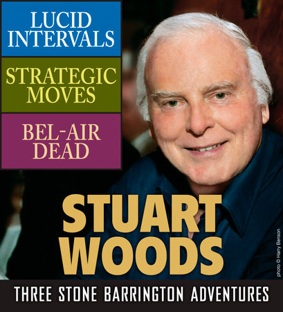 Stuart Woods: Three Stone Barrington Adventures book cover
