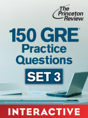 150 GRE Practice Questions, Set 3 (Interactive)