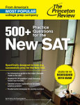 500+ Practice Questions for the New SAT