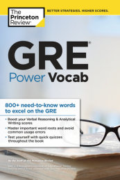 GRE Power Vocab