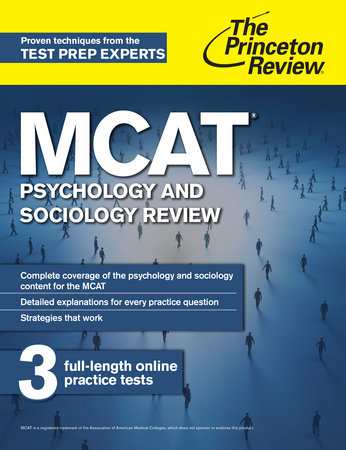 MCAT Psychology and Sociology Review by Princeton Review