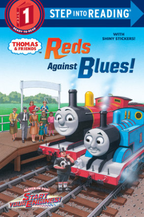 Reds Against Blues! (thomas & Friends)