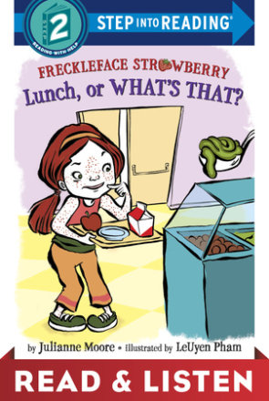 Freckleface Strawberry: Lunch, Or What's That?: Read & Listen Edition (ebk)
