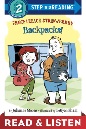 Freckleface Strawberry: Backpacks!: Read & Listen Edition (ebk)
