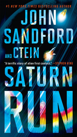 Saturn Run book cover