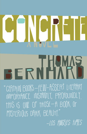 Concrete by Thomas Bernhard