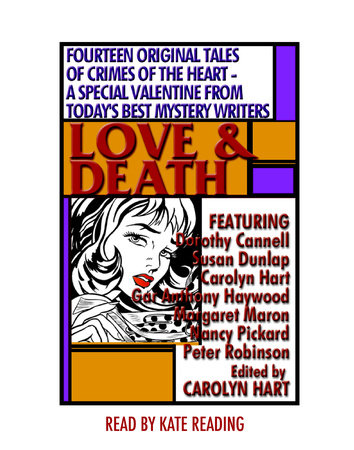 Love and Death by Carolyn Hart