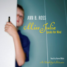 Miss Julia Speaks Her Mind Cover