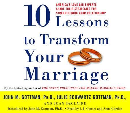 Ten Lessons To Transform Your Marriage by Julie Schwartz Gottman, John Gottman, Ph.D. and Joan DeClaire