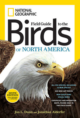 National Geographic Field Guide to the Birds of North America, Sixth Edition by