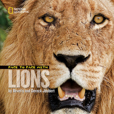 Face to Face with Lions by Beverly Joubert and Dereck Joubert