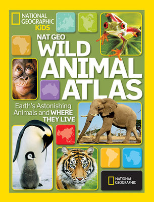 Nat Geo Wild Animal Atlas by