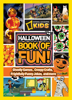 NG Kids Halloween Book of Fun by