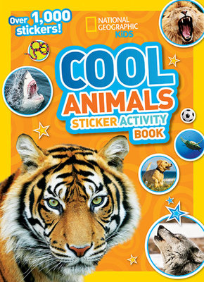 National Geographic Kids Cool Animals Sticker Activity Book by