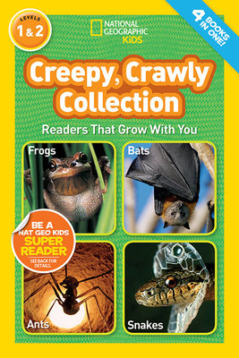 National Geographic Readers: Creepy Crawly Collection by