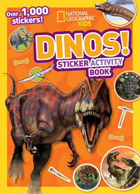 National Geographic Kids Dinos Sticker Activity Book by