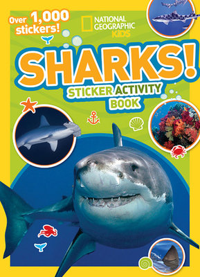 National Geographic Kids Sharks Sticker Activity Book by