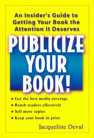 Publicize your Book!