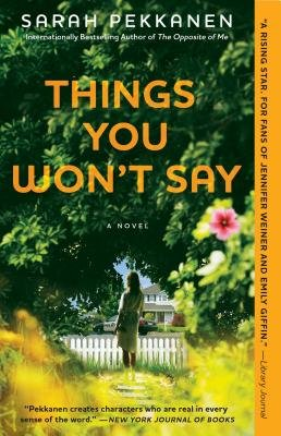 Cover art for Things You Won't Say