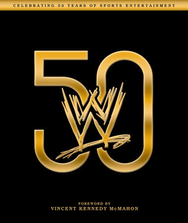 WWE 50 book cover