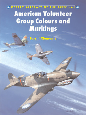 American Volunteer Group 'Flying Tigers' Aces by Terrill Clements
