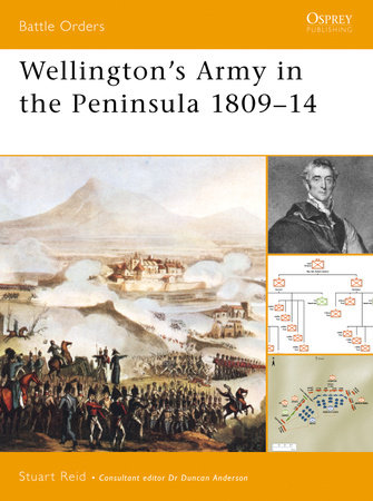 Wellington's Army in the Peninsula 1809-14 by