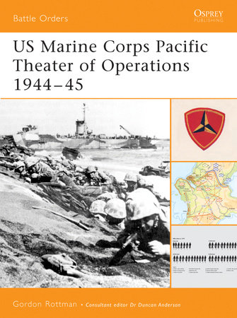 US Marine Corps Pacific Theater of Operations 1944-45 by
