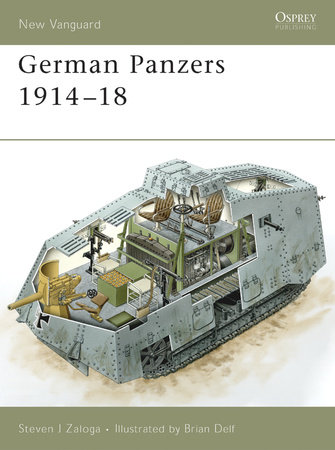 German Panzers 1914 - 18 by