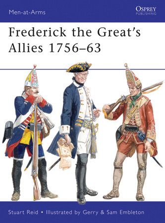 Frederick the Great's Allies 1756-63