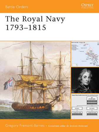 The Royal Navy 1793-1815 by Gregory Fremont-Barnes