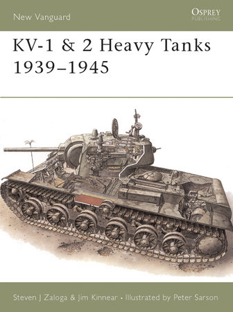 KV-1 & 2 Heavy Tanks 1939-45 by