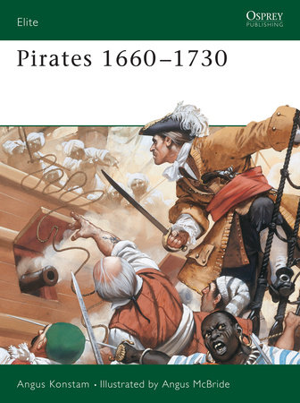 Pirates 1660-1730 by Angus Konstam