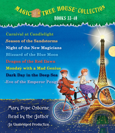 Magic Tree House Collection: Books 33-40