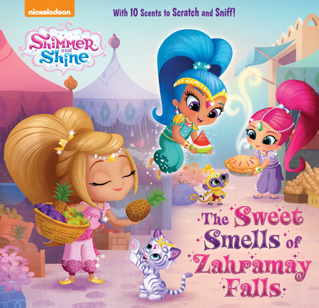 The Sweet Smells Of Zahramay Falls Shimmer And Shine Penguin
