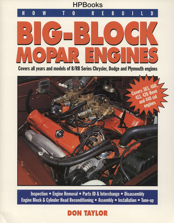 Rebuild to Rebuild Big-Block Mopar Engines HP1190